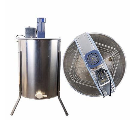 Four Frame Stainless steel Electric Motor Honey Extractor